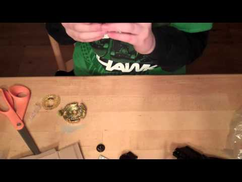 Hell Kerbecs BD145DS BB99 Beyblade Metal Fusion Unboxing Video