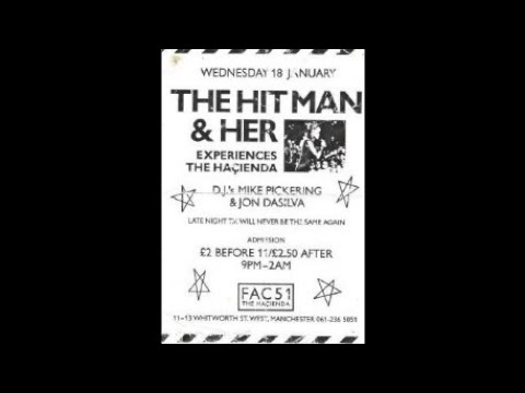 Hitman & Her Special  Hacienda, Manchester 18th Jan 1989 (pt1 Of 2) video