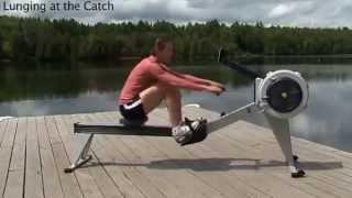 тренажер гребля на лодке