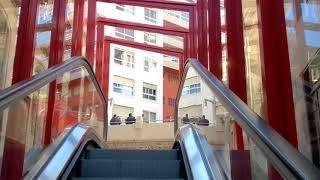 Esto es lo que se tarda en ir de Porta do Sol a Abeleira Menéndez usando las escaleras mecánicas
