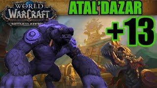 BFA Mythic +13 Atal'Dazar +1 - Guardian Druid PoV