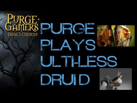 Dota 2 Purge plays Druid wo/ Ult