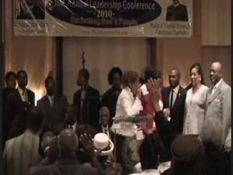 Dr. Dorinda Clark Cole ministering More than a Conqueror to Overcome Temptation! Pt. 4