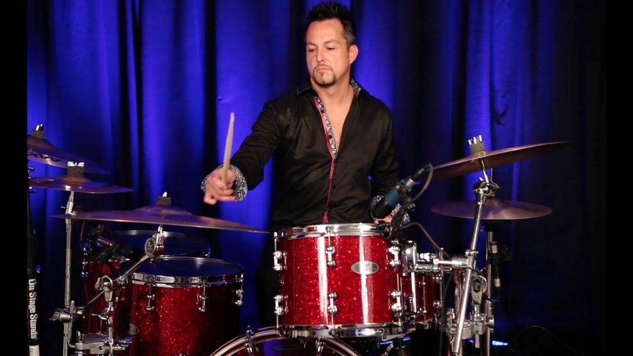 RYAN SCHIEDERMAYER Drummer on Sam Llannas Album - The Whole Night Thru 2014