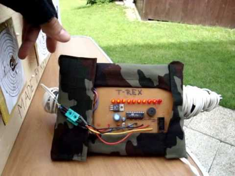 HOMEMADE ELECTRONIC AIRSOFT TARGET... (by Kevin) please read the Description...