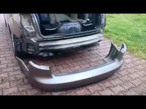 [Tuto] démontage bouclier arrière Audi A4 B7 Avant  2006