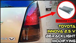 Innova tail lights Modifying 2019 |  Smoke tint on Toyota Innova Break light | Modify Stickers