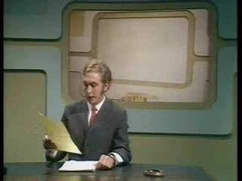 Monty Python - Newsreader Arrested Video