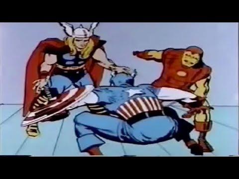 El trailer de The Avengers recreado con clips de series animadas de los 60