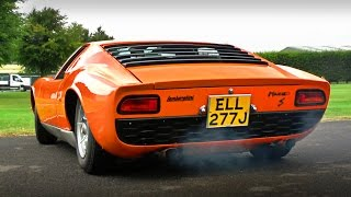 Lamborghini Miura with just 20,000 miles on the clock!