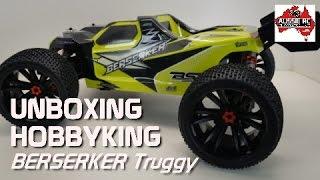Unboxing: HobbyKing Berserker 1/8 Scale Truggy