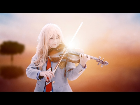 [4k UHD] Cosplay Violin Cover: Your Lie in April OP1 - Hikaru Nara (光るなら)