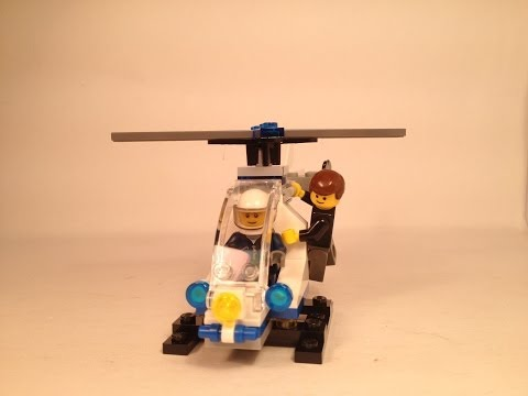 LEGO Set Reviews: 30226 Police Helicopter [Polybag]