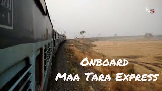 Maa Tara Express+WAG 5 | Onboard Journey compilation | UP ICF 13187 SDAH RPH | BWN to GKH