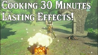 Cooking 30 MINUTES LONG Lasting Effects! in Zelda: Breath of the Wild