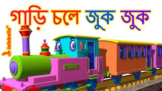 Train Song | Bengali Rhymes for Children | infobells