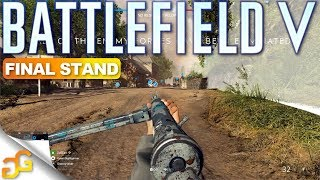 32 vs 32 Mini Battle Royale - Battlefield 5 Final Stand Gameplay on Arras