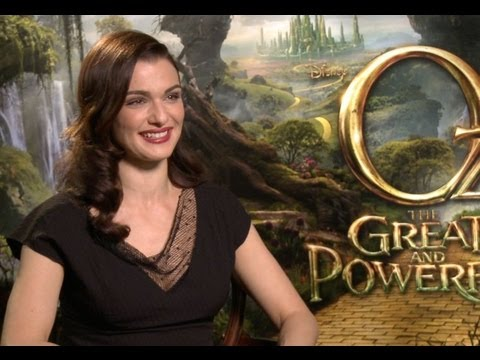 Oz: The Great And Powerful - Rachel Weisz Interview