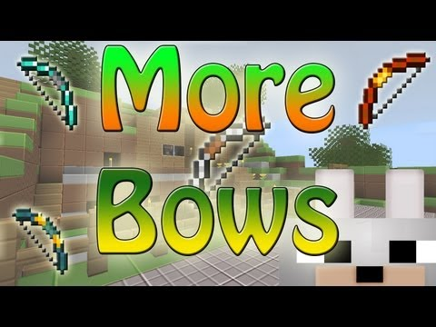 Minecraft Mods - More Bows 1.3.2 Review and Tutorial