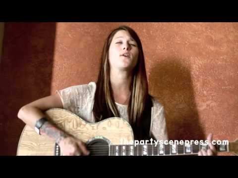"Cassadee Pope performing an acoustic version of a new song called ""Secondhand"" exclusively for The Party Scene Press. Make sure to vote for her on NBC's The ..."