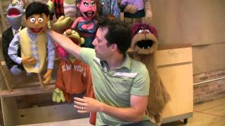 Behind the scenes: Puppetry in