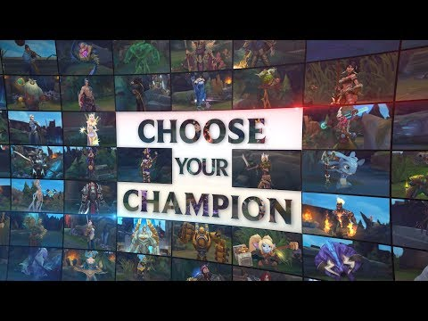 Choose Your Champion by Diyyo | Community Collaboration Gameplay Trailer