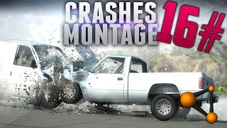 BeamNG Drive Crashes Montage #16 [HD]