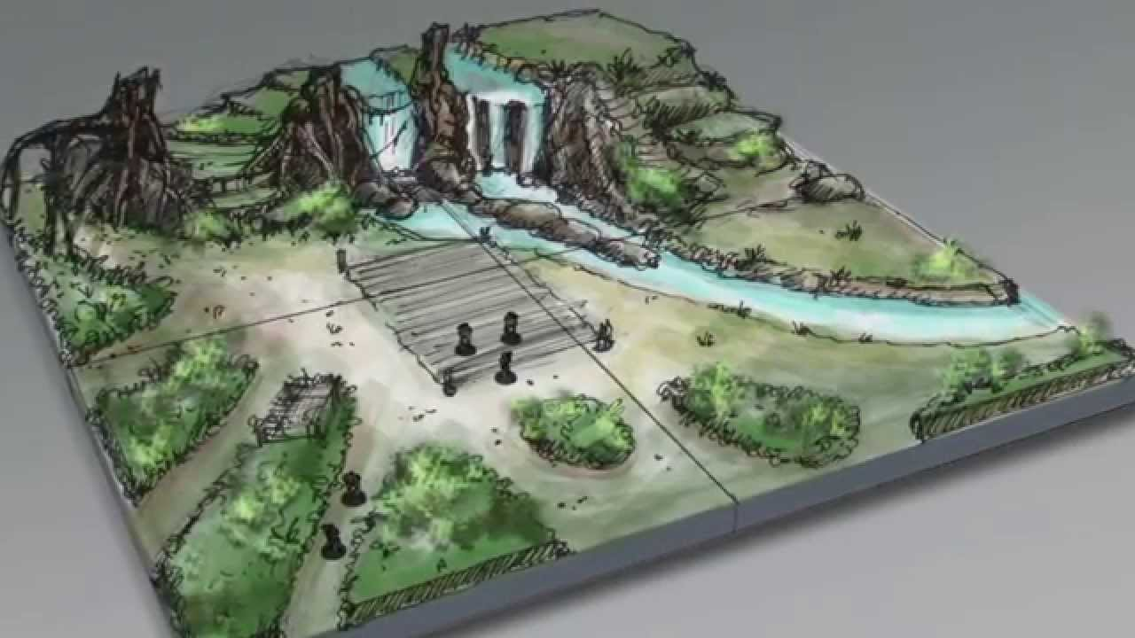 How To Design The Ultimate Wargaming Terrain Youtube