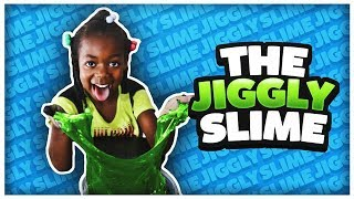 JIGGLY SLIME | DIY SUPER JIGGLY & SQAUSHY | HOW TO MAKE JIGGLY SIME!!