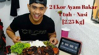 Download video MUKBANG !! 2 Ekor Ayam Bakar Utuh + Nasi