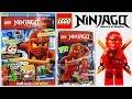 Журнал Лего Ниндзяго №1 2015 / Magazine Lego Ninjago + Фигурка Кай / Kai
