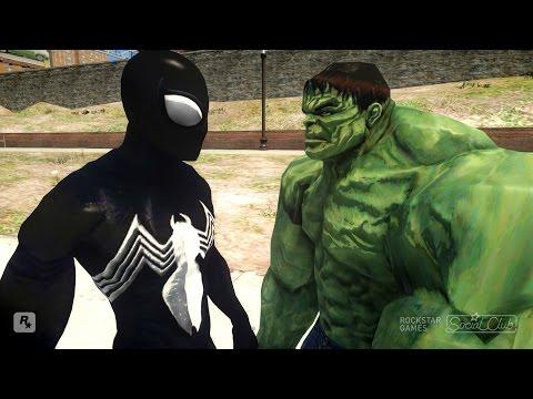 Spiderman vs Hulk Symbiote Spider-Man