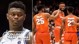 Zion, Duke's loss to Syracuse headlines biggest upsets of season | College Basketball Highlights