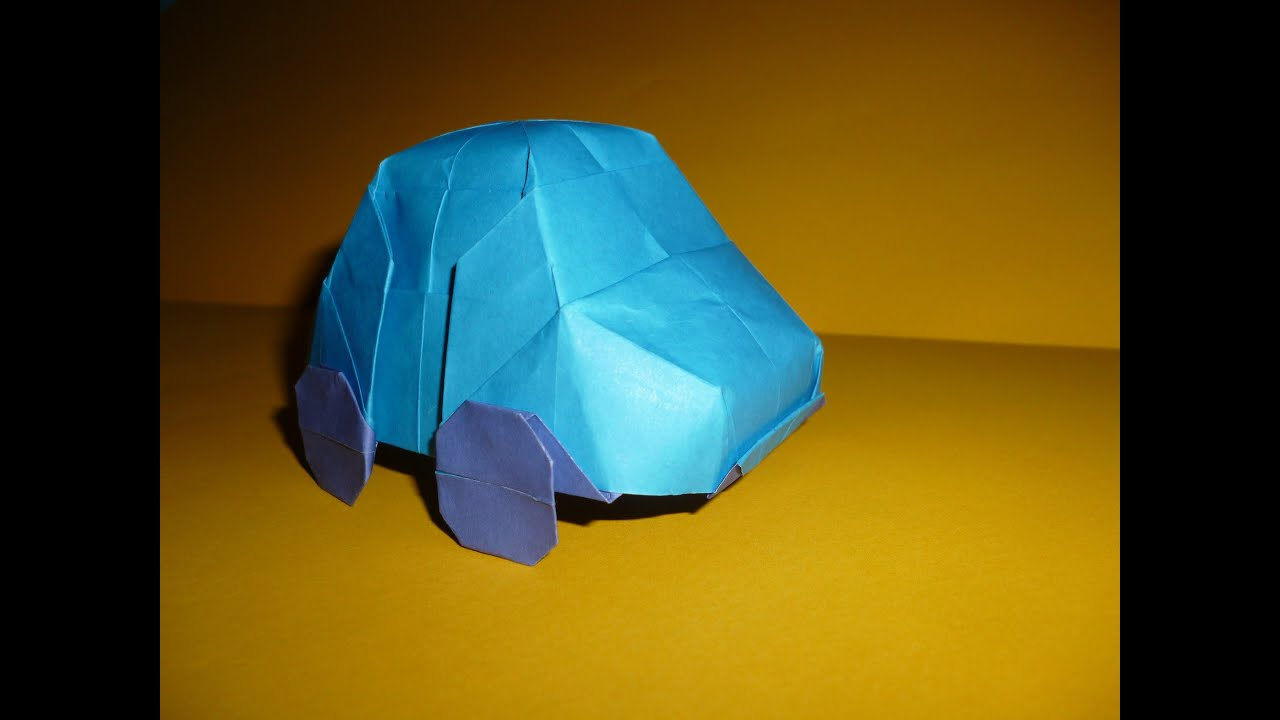 Origami Bugs Diagrams Origami Car vw Bug