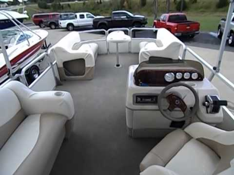 2006 Sun Tracker 21 Party Barge 50hp Mercury Youtube