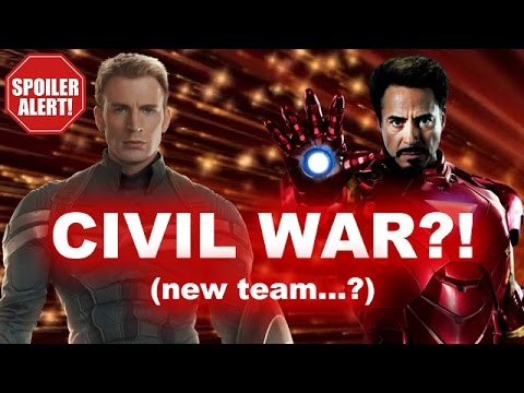 Avengers 2 SPOILERS - Marvel Civil War to wage in Phase 3?! - Beyond The Trailer