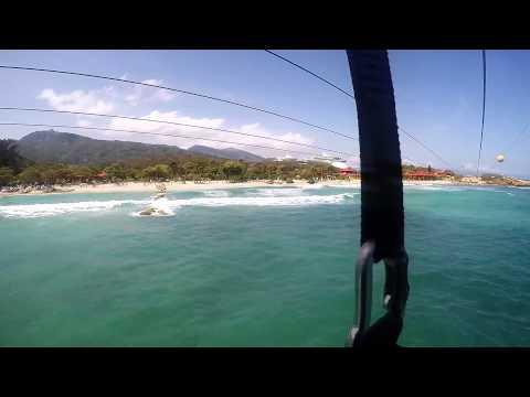 Labadee, Haiti Zipline GoPro
