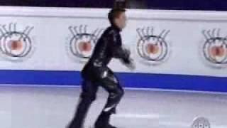 "Brian Joubert best moments from ""Matrix"""