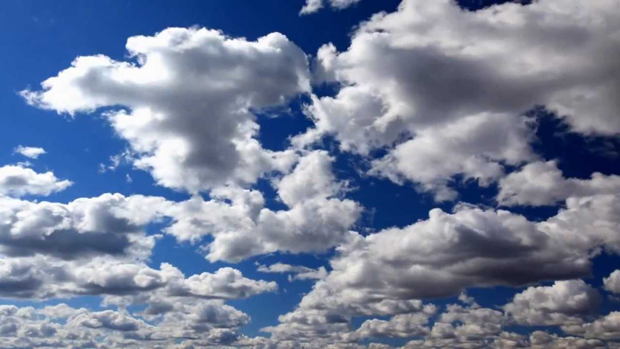 Hd 1080p Clouds In The Sky Vimeo Youtube