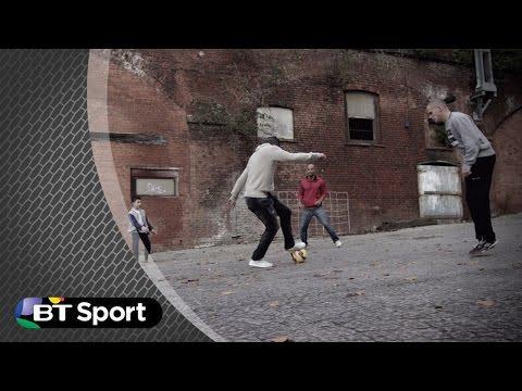 Robin van Persie: vs Shaqueel Van Persie | BT Sport