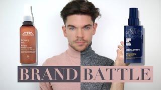 Thicker Hair - Aveda vs. Label M | Brand Battle