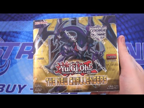 Yugioh The New Challengers 1st Edition Booster Box Opening video