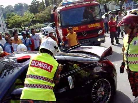kejadian di sinsuran kota kinabalu sabah malaysia pada 26/01/2010