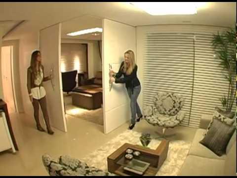 Programa Evidência - Decoração e arquitetura de apartamento de um jovem casal