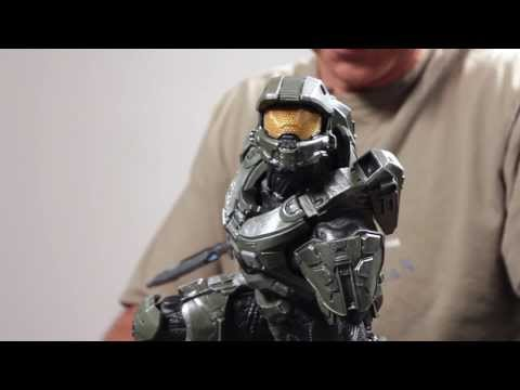 Halo 4: The Master Chief Resin Statue (Part 2)