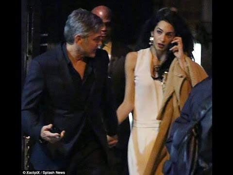 George and Amal Clooney enjoyed a date night in New York City on Friday