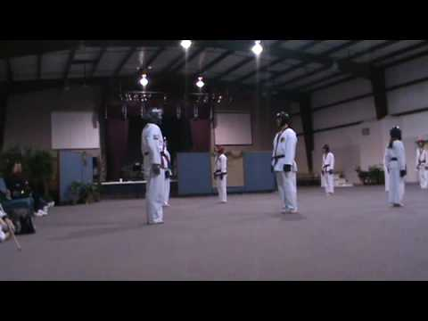 Tang Soo Do sparring:  Cho-Dan test Image 1