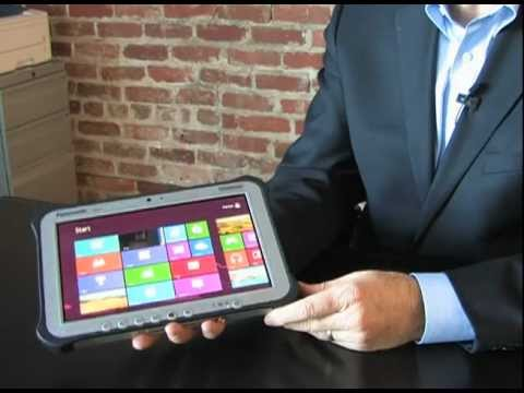 Panasonic Toughpad FZ-G1 - Rugged Windows 8 Tablet