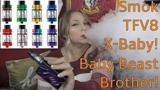 Smok TFV8 X-Baby Tank! Baby Beast Brother! | TiaVapes