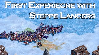 First Experience with Steppe Lancers! | Tatars vs Franks